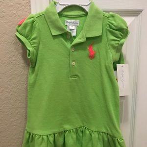 9 months Dress Polo Ralph Lauren NWT